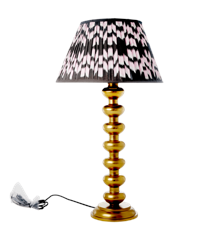Rice - Metal Table Lamp in Gold