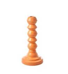 Rice - Enamel Coated Candleholder - Orange
