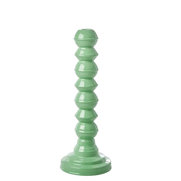 Rice - Enamel Coated Lysestage - Emerald Green