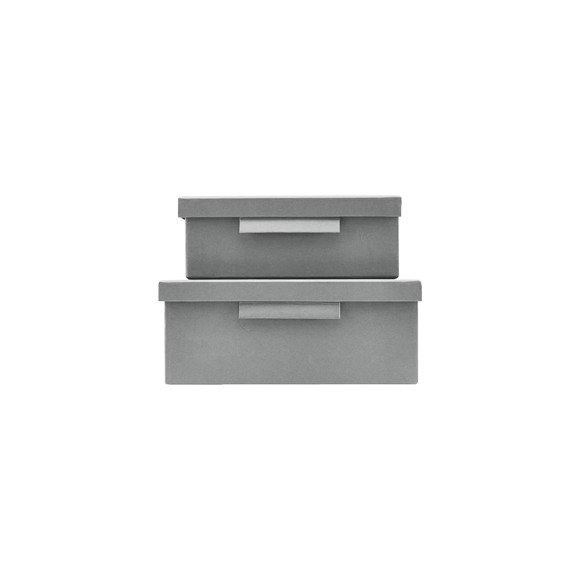 House Dcotor - File Box With Lid - Light Grey (402740011/402740011)