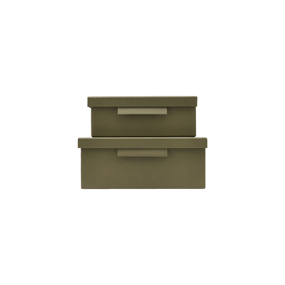 House Dcotor - File Box With Lid - Army Grey  (402740010/402740010)