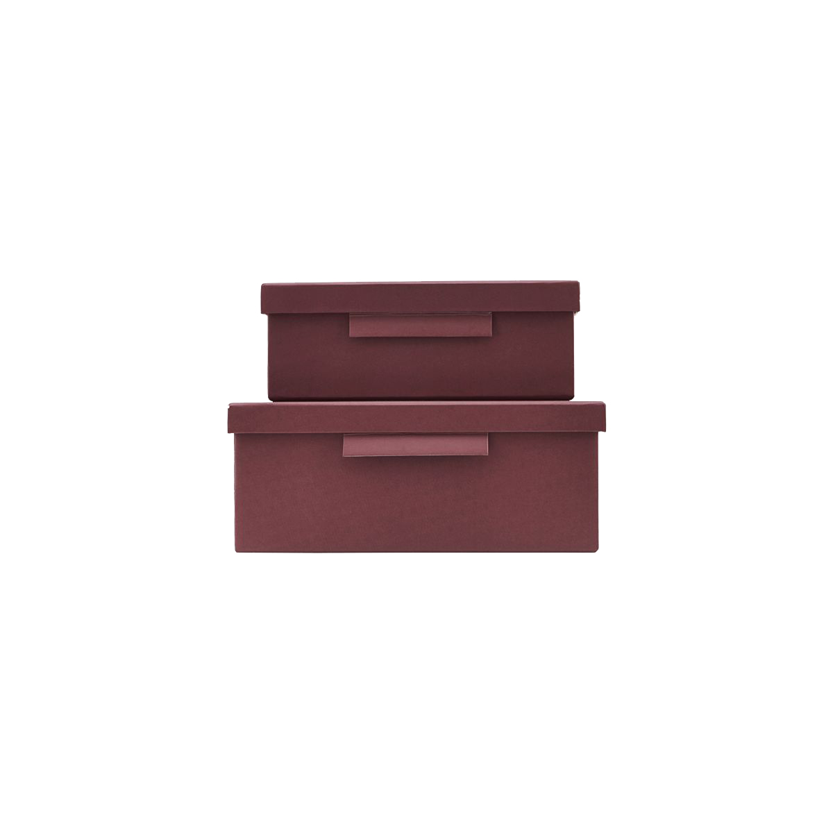 House Dcotor - File Box With Lid - Bourgogne (402740012/402740012)