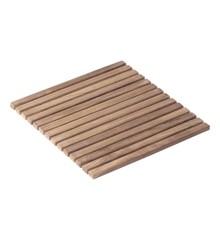 Cinas - Bath Matt 40 x 40 cm - Teakwood (5063000)