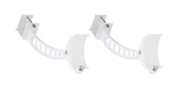 Solamagic - Premium Awning Fittings 2pcs - White