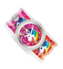 Watchitude - Slapwatch børneur - Regnbue enhjørning (432)