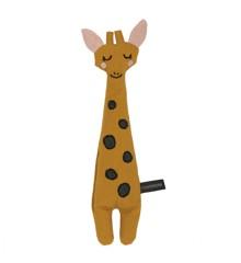 Roommate - Mini Giraf Bamse - Rokker Gul