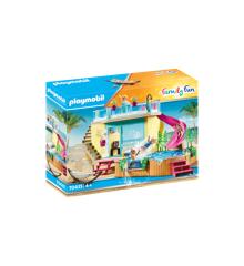 Playmobil - Bungalow  med pool (70435)