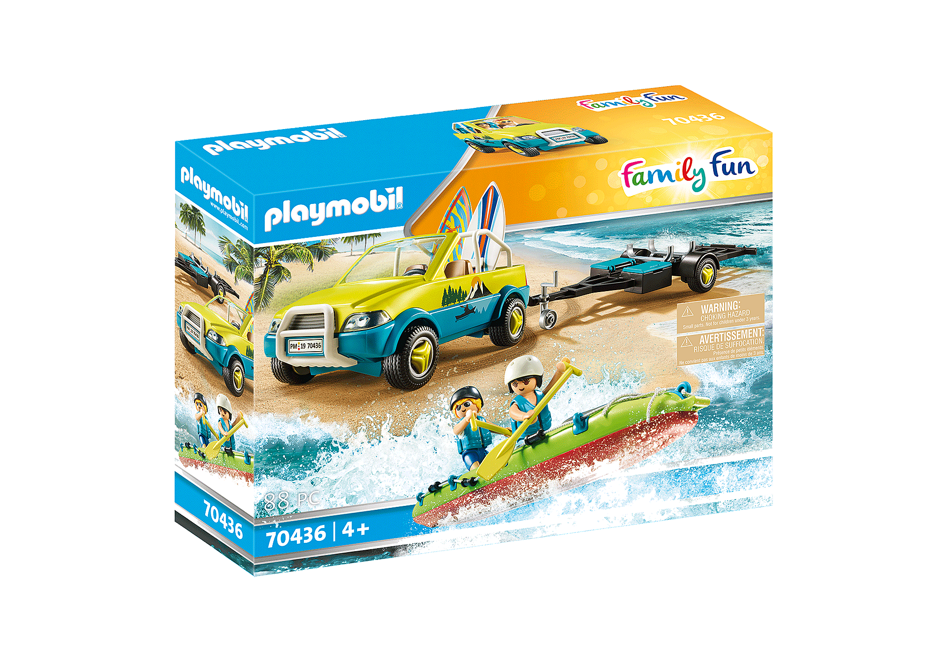 Playmobil - Beach car with Canoe (70436)