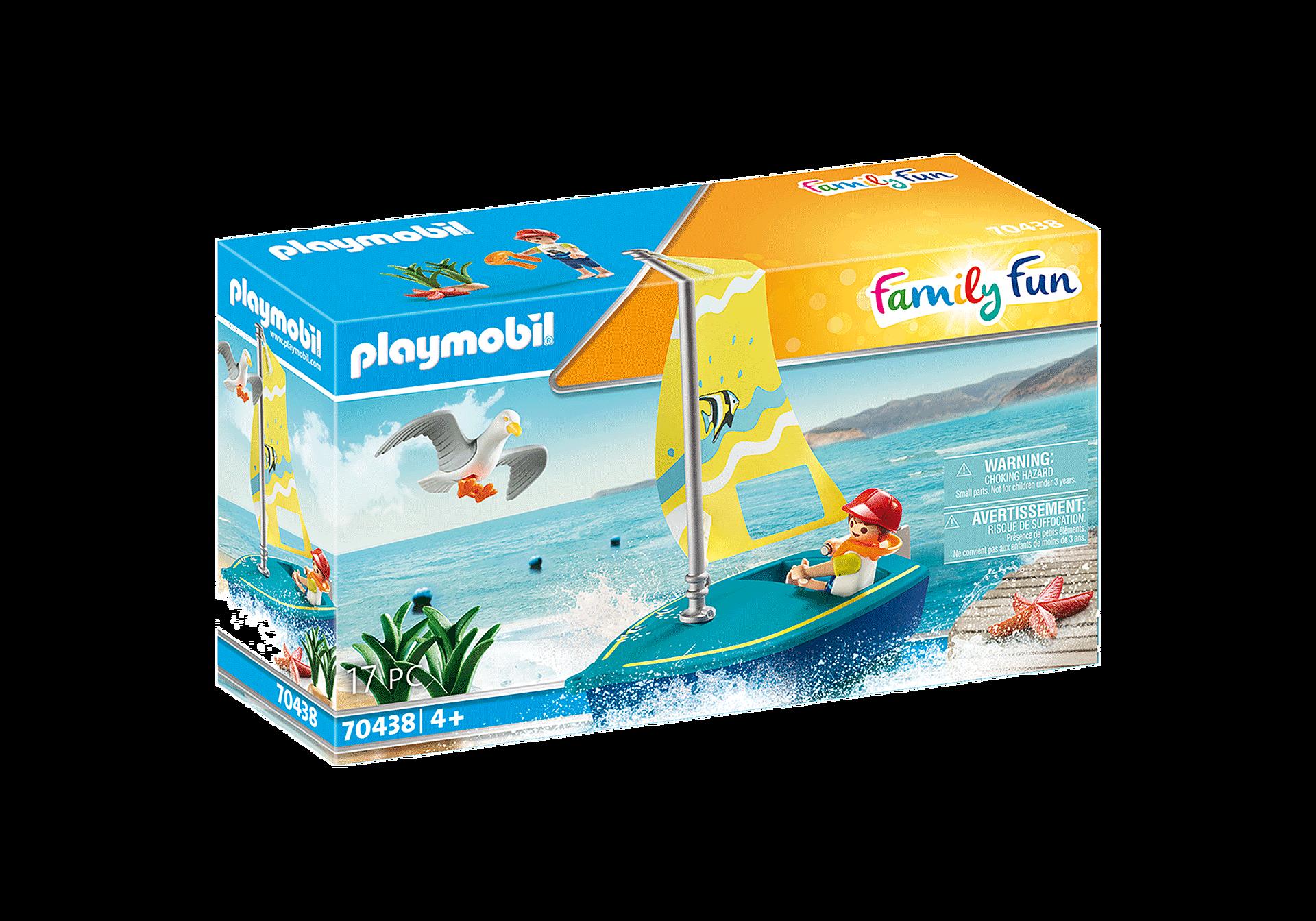 Playmobil - Sailboat (70438)