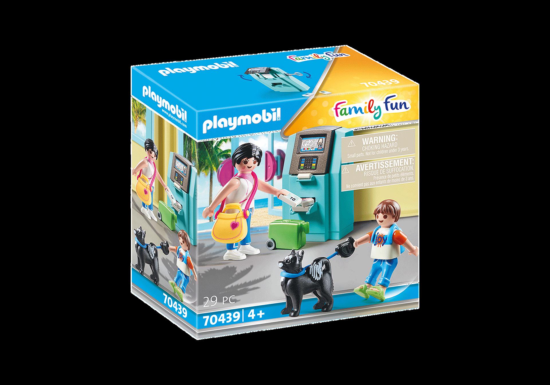 Playmobil - Feriegæst med pengeautomat (70439)
