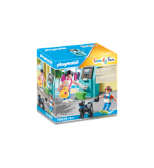 Playmobil - Tourists with ATM (70439)