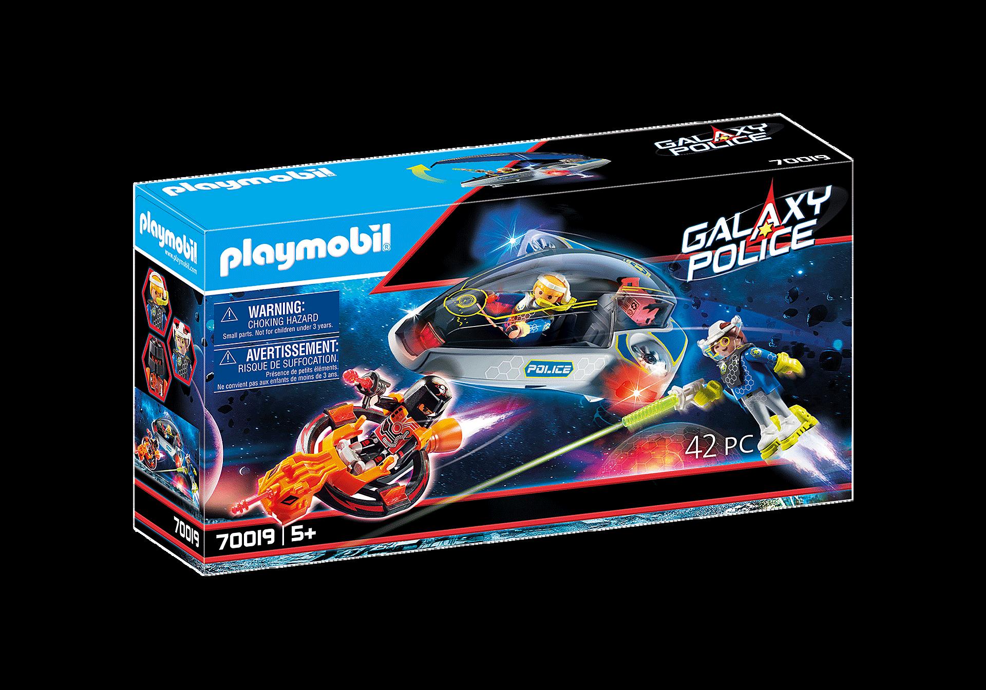 Playmobil - Galaxy Police Glider (70019)
