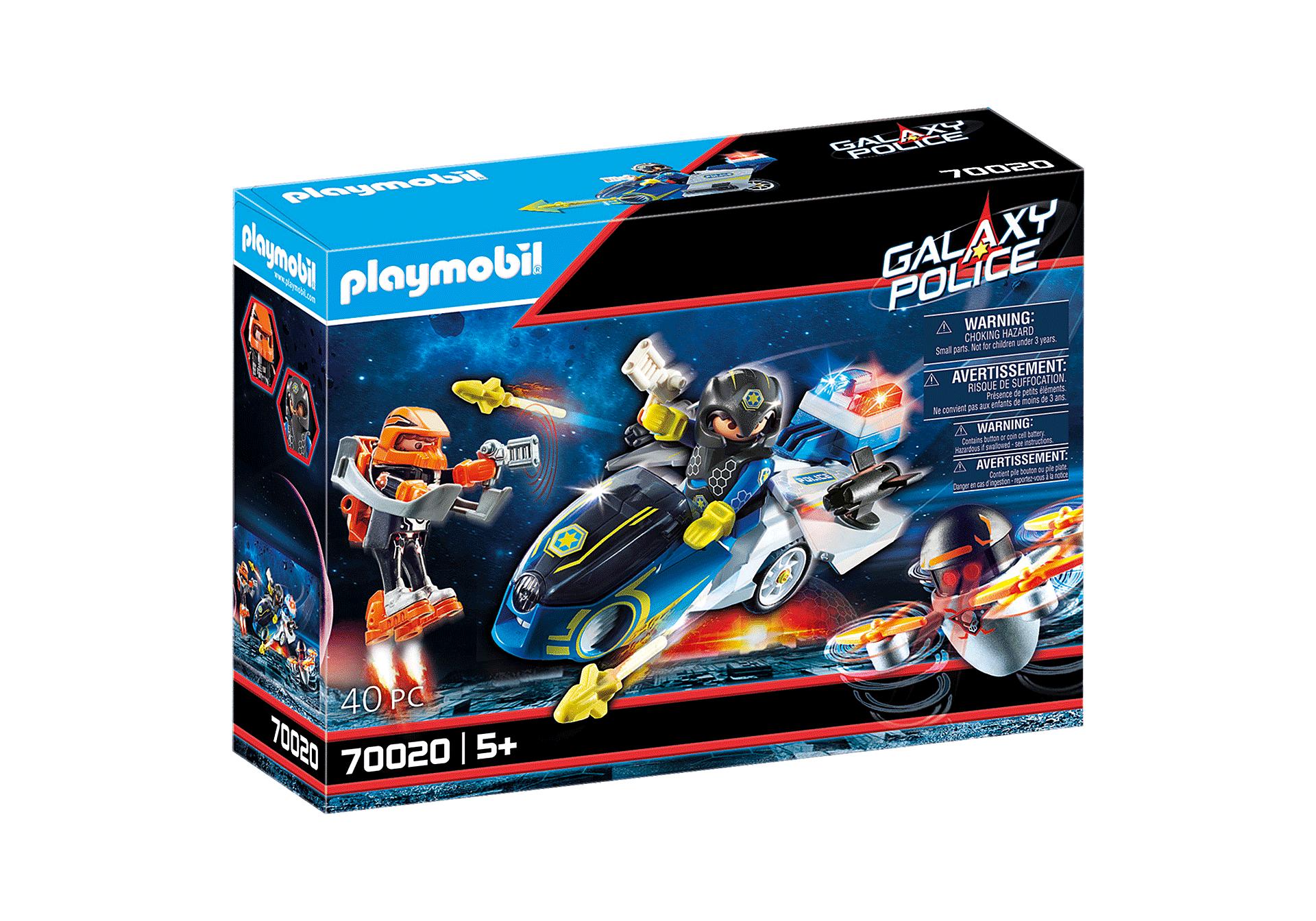 Playmobil - Galaxy Police Bike (70020)