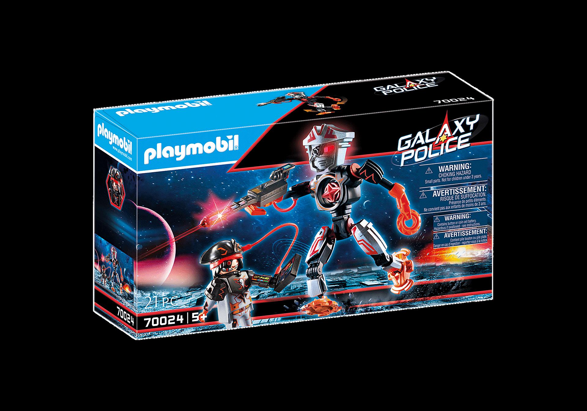 Playmobil - Galaxy Police - Space Pirates Robot (70024)