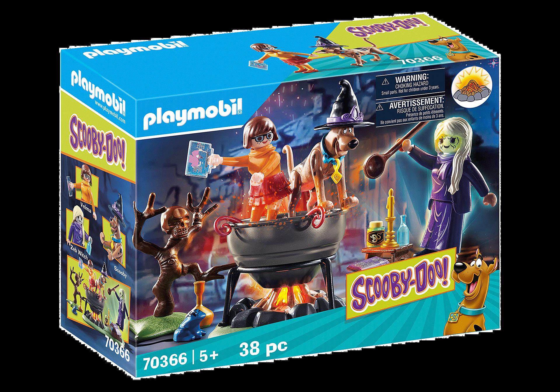 Playmobil - Scooby-Doo - Abenteuer im Hexenkessel (70366)