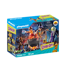 Playmobil - Scooby-Doo - Witch with pot (70366)