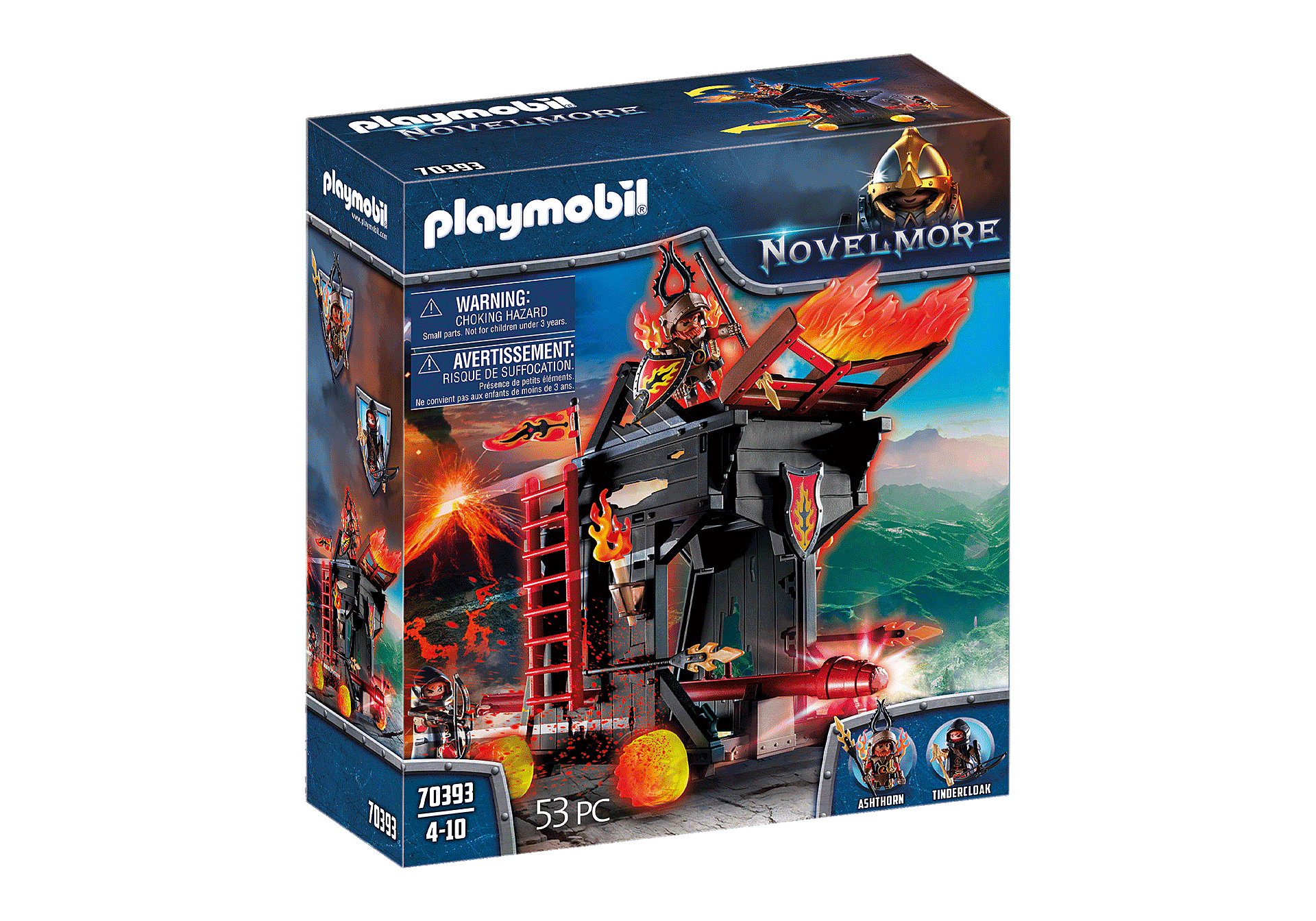 Playmobil - Burnham Raiders - Feuerrammbock (70393)
