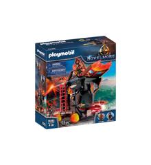 Playmobil - Burnham Raiders - Fire Attack Tower (70393)
