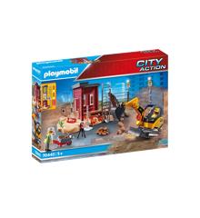 Playmobil - Minigravemaskine med byggedel (70443)