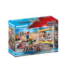 Playmobil - Byggestillads med håndværkere (70446)