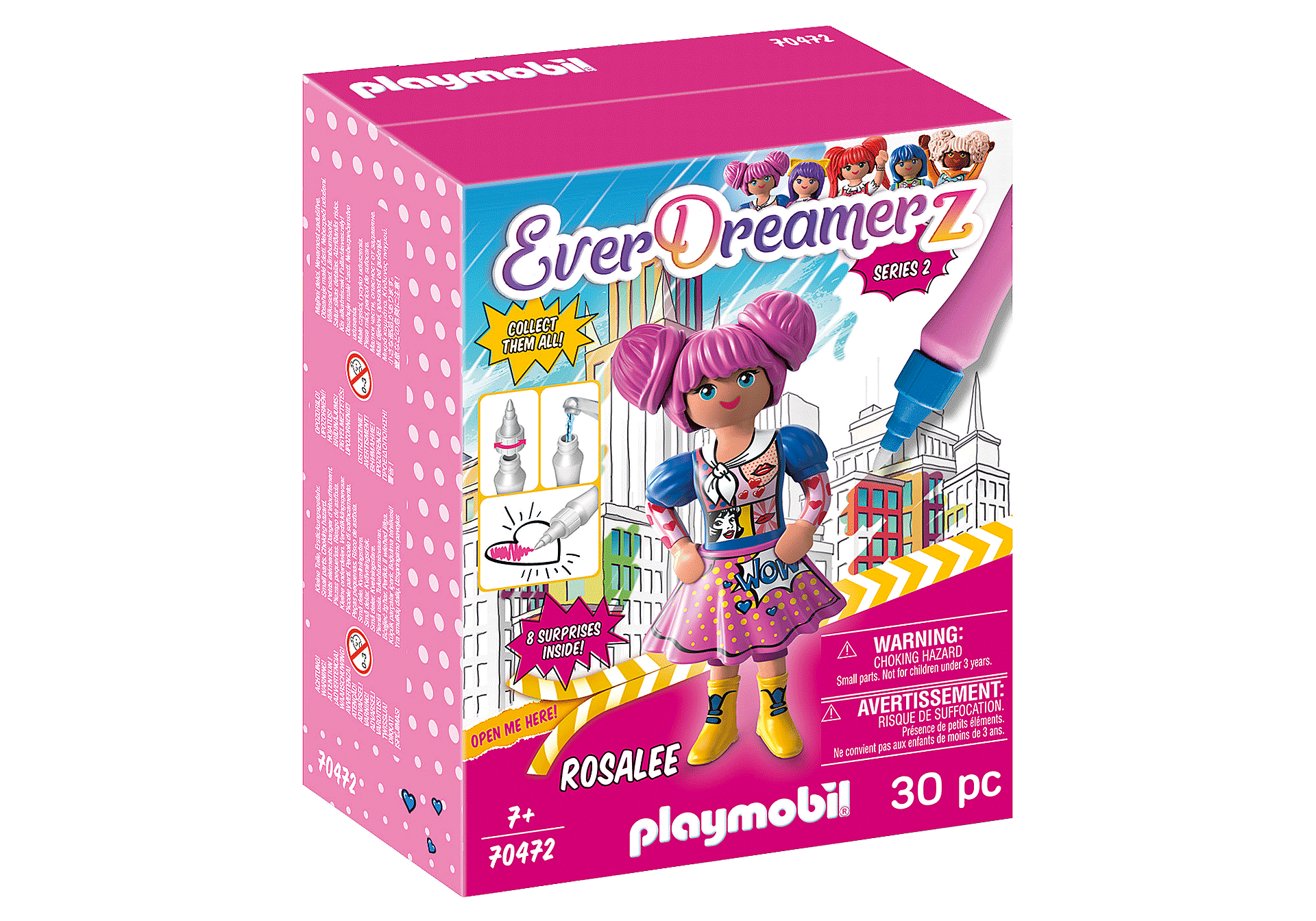 Playmobil - Everdreamerz Rosalee - Comic World (70472)