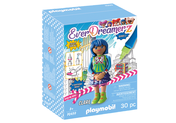 Playmobil - Everdreamerz Clare - Comic World (70477)
