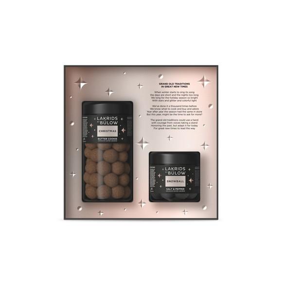 Lakrids By Bülow - Black Box Regular Christmas & Small Snowball 420 g