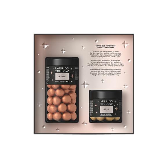 Lakrids By Bülow - Black Box Regular Classic & Small Gold 420 g (500447)