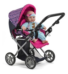 My Baby - Dolls Pram 3-in-1 (61457)