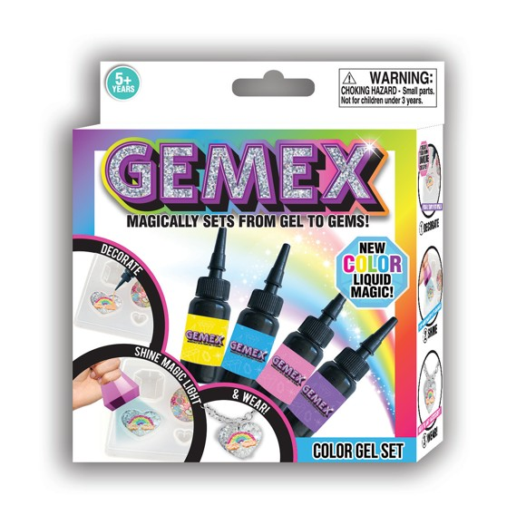 Gemex - Color Gel Sæt (24806)
