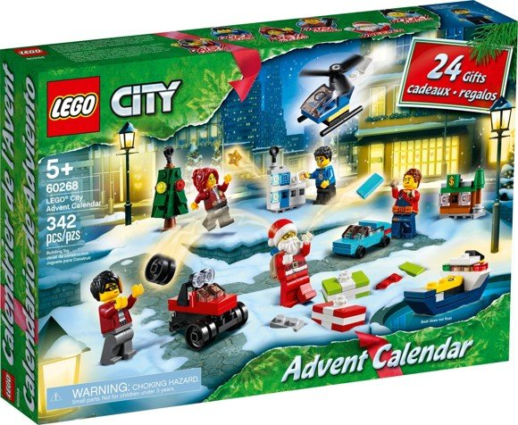 LEGO City - Town Advent Calendar 2020 (60268)