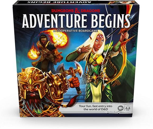 Dungeons and Dragons - Adventure Begins Boardgame (D&D) (Engelsk)