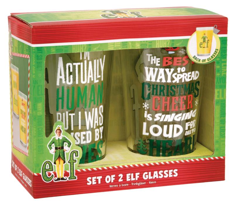 Elf Movie - Set of 2 Glasses (PP7322EL)