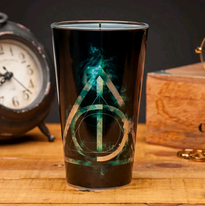 Harry Potter - Deathly Hallows Glass (PP4556HPV2)