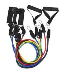 Inshape - Fitness Træningselastik Sæt - Multi