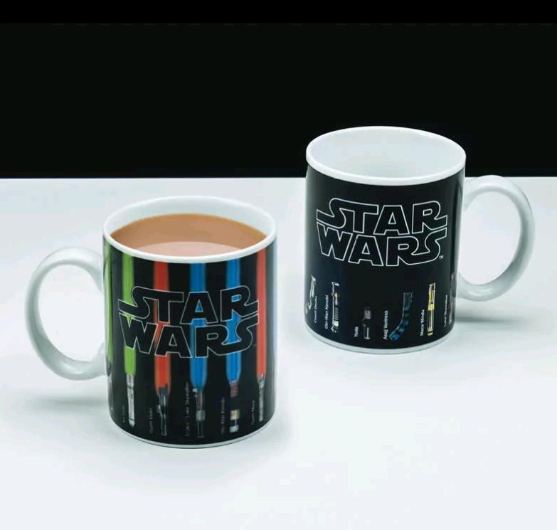 Star Wars - Lyssværd Varmeskiftende Kop