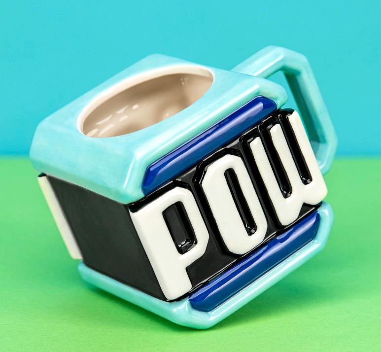 Super Mario - Pow Block Mug (PP6344NN)