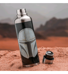 Star Wars - The Mandalorian - The Mandalorian Metal Water Bottle (PP7361MAN)