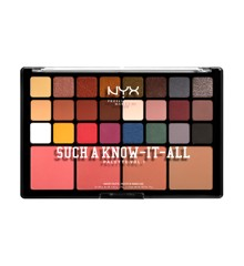 NYX Professional Makeup - Such A Know-It-All Øjenskygge Palette