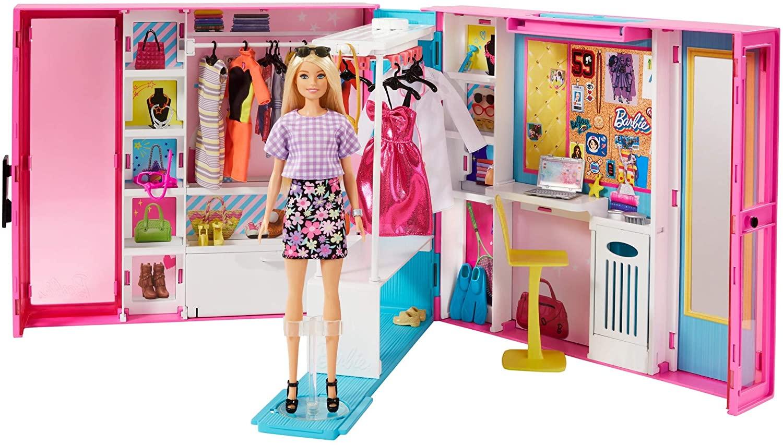 Billede af Barbie - Drrømme Klædeskab 60 cm (GBK10)