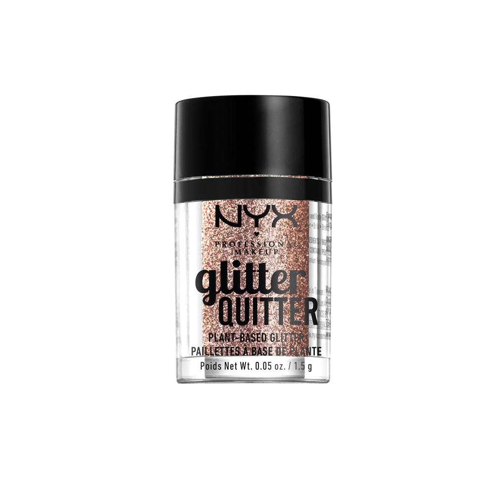 NYX Professional Makeup - Glitter Quitter Plant Based Glitter - Bronze