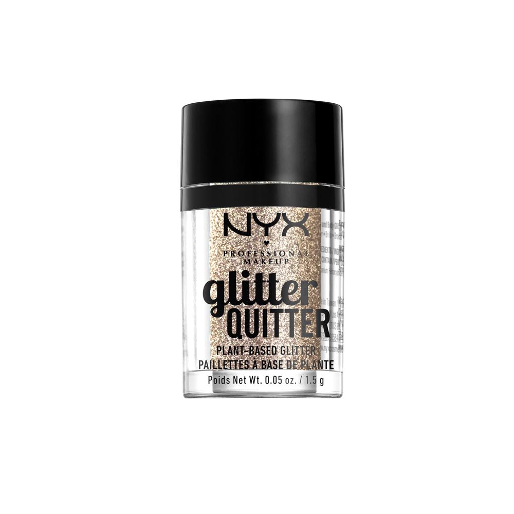 NYX Professional Makeup - Glitter Quitter Plant Based Glitter - Gold