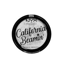NYX Professional Makeup - California Beamin' Glow Booster Diamantpudder