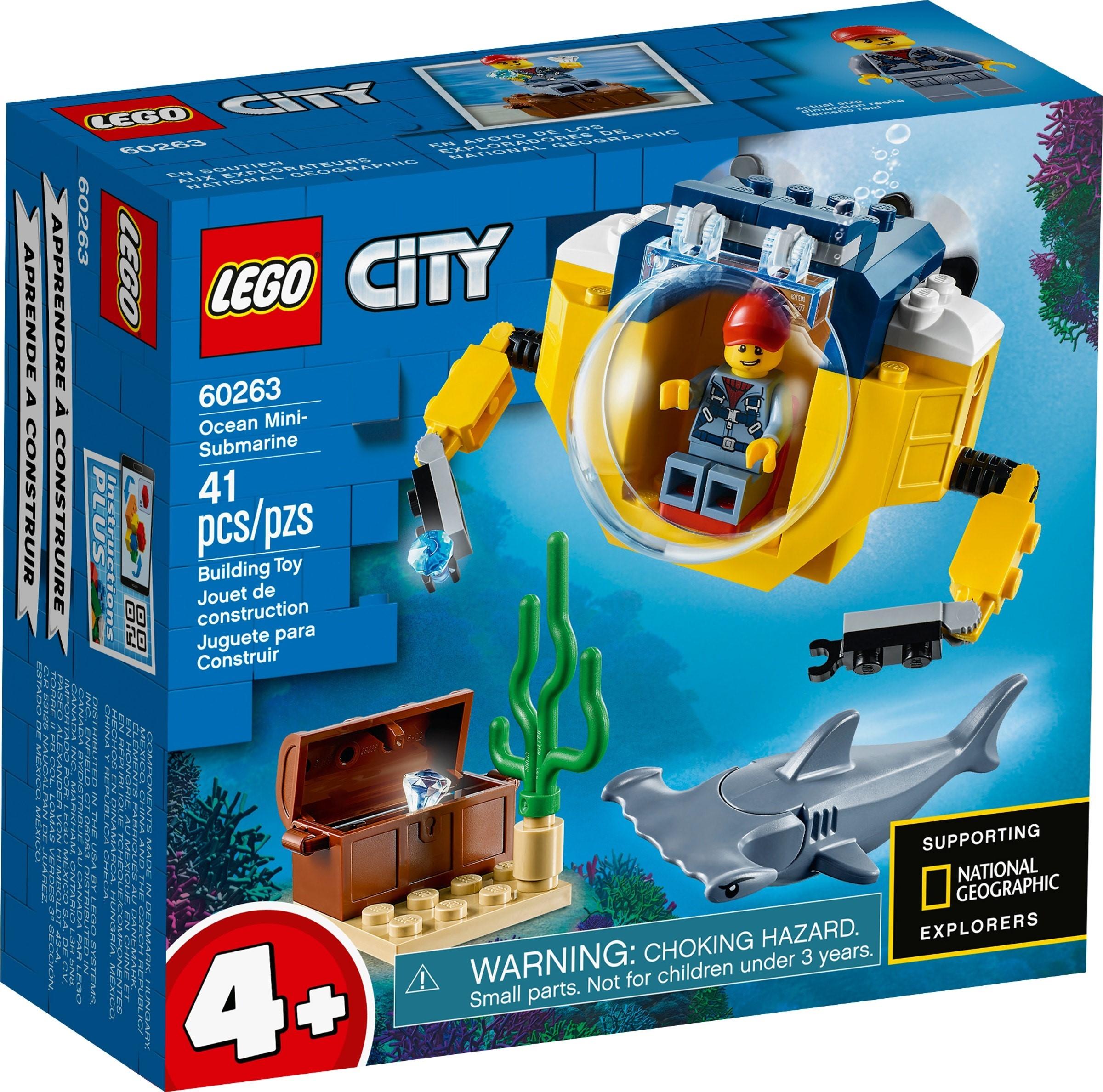 LEGO City - Mini-ubåd (60263)