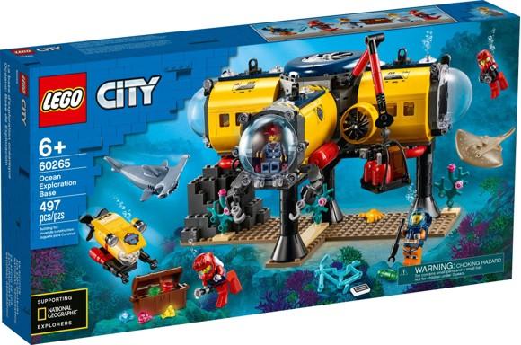 LEGO City - Ocean Exploration Base (60265)