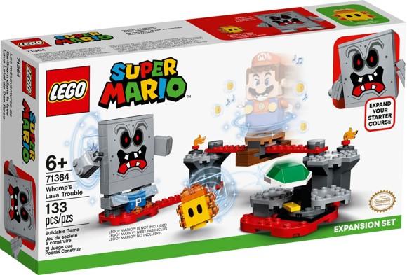 LEGO Super Mario - Whomp's Lava Trouble Expansion Set (71364)