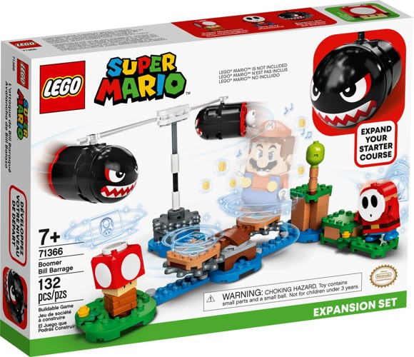 LEGO Super Mario - Boomer Bill Barrage Expansion Set (71366)