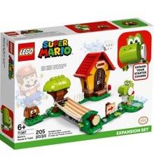 LEGO Super Mario - Marios hus og Yoshi – udvidelsessæt (71367)