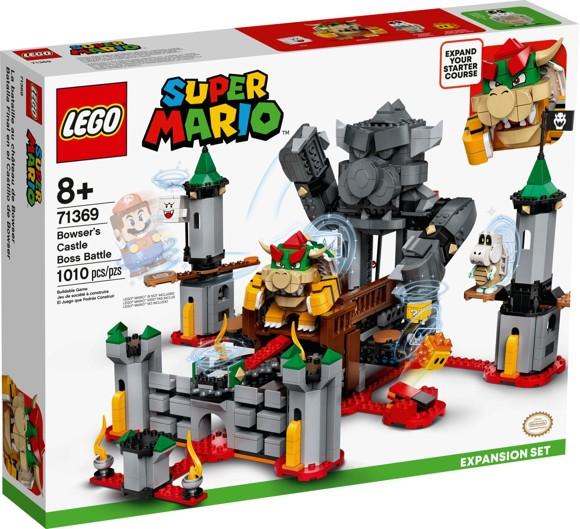 LEGO Super Mario - Bowser's Castle Boss Battle Expansion Set (71369)