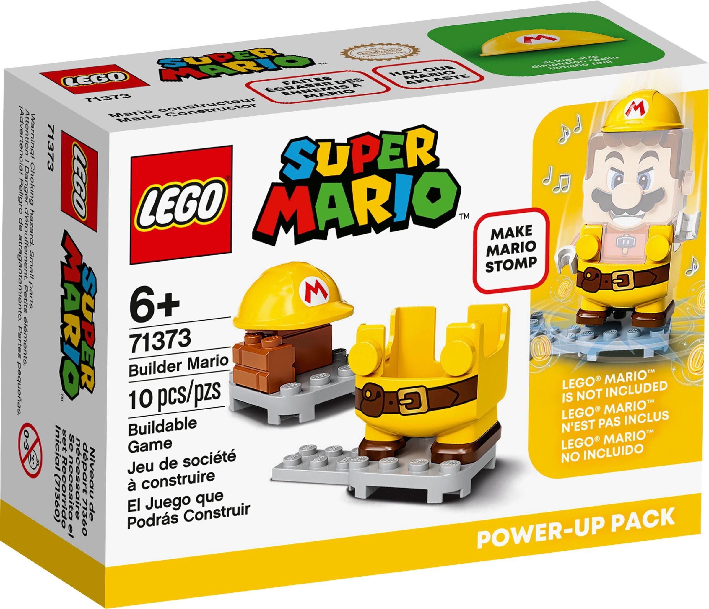 â??LEGO Super Mario - Bygge-Mario powerpakke (71373)â??